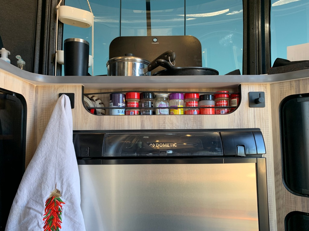 Airstream Basecamp Kitchen