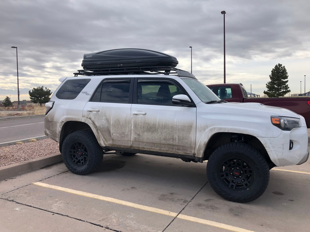 4Runner and Thule Cargo Box