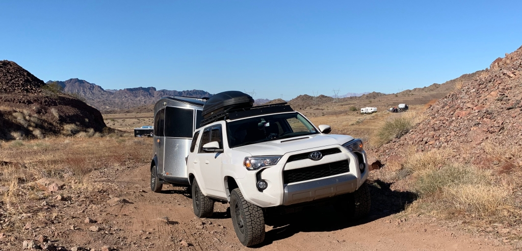 Toyota 4Runner Gobi Rack Airstream Basecamp