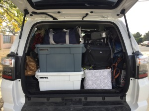 Living in a 4Runner