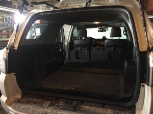4Runner trunk rubber mat