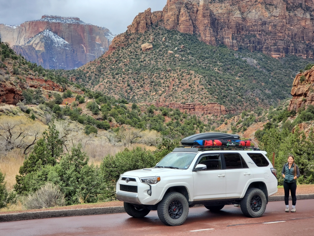 4Runner in zion national park