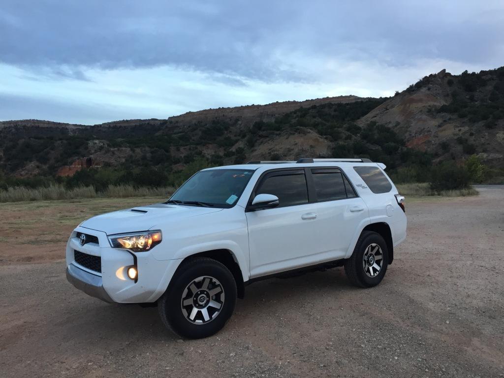 My stock 2018 Toyota 4Runner TRD Off-Road Premium